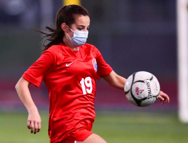 New Hartford sophomore Biddie Clive and her unbeaten Spartans will take their 13-0-0 mark into the TVL Colonial girls soccer championship game against rival Whitesboro at 1 p.m. today at Don Edick Field in New Hartford.