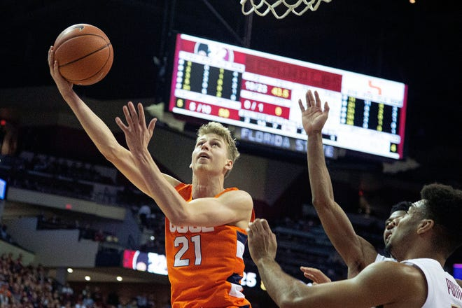 Marek Dolezaj is among the returning players to the Syracuse men's basketball team for the upcoming season.