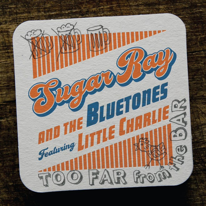 """Too Far From the Bar,"" on Severn Records, is a 15-song, 64-minute primer on the kind of bright and kinetic rockin' blues styles Sugar Ray Norcia has excelled at over the past four decades."