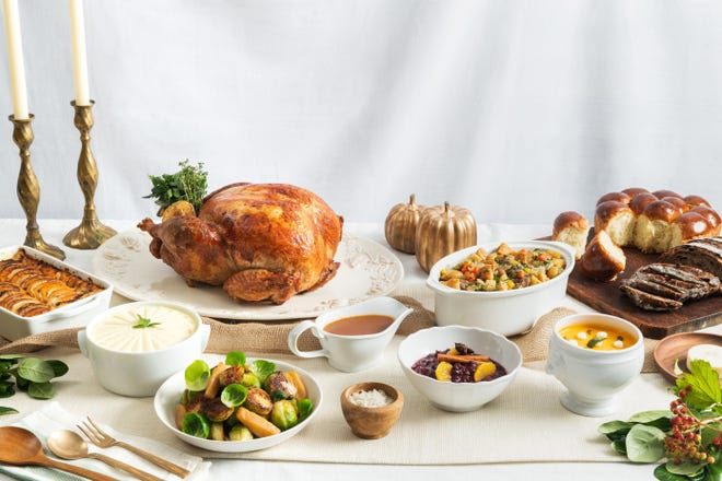 The Thanksgiving menu at Cafe Boulud will include various selections, including turkey with all the fixings.