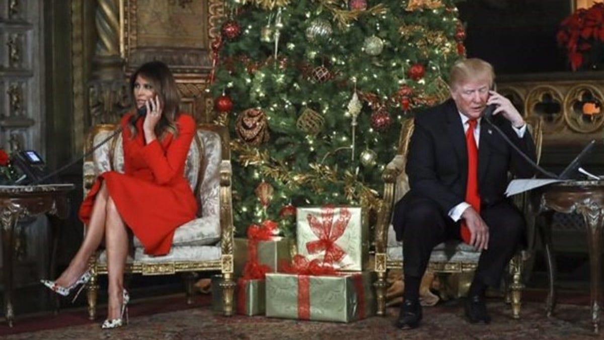 Trump Christmas Photo 2021 Will Trump Cut Short His Final Presidential Christmas Visit To Mar A Lago