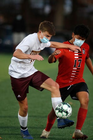 Owen Klusak and the Tiverton boys soccer team travels north Monday to take on Paul Cuffee at Drummond Field at 4 p.m. in the Division III boys soccer quarterfinals.