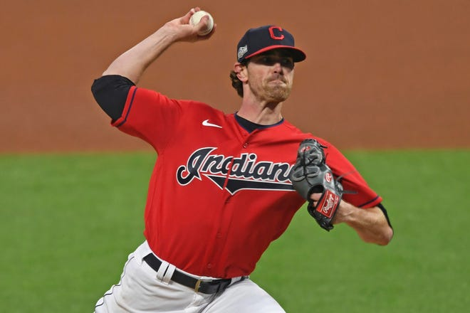 Cleveland pitcher is a strong favorite to win the American League Cy Young Award on Wednesday after leading the AL in wins, strikeouts and ERA this past season.