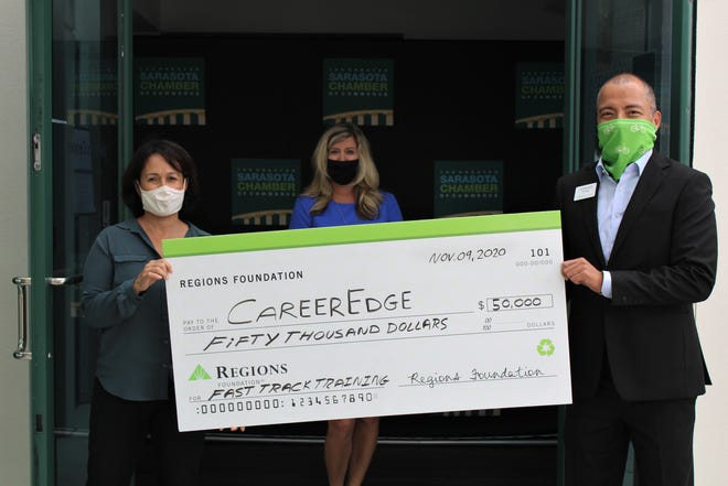 The Regions Foundation gave $50,000 to CareerEdge.