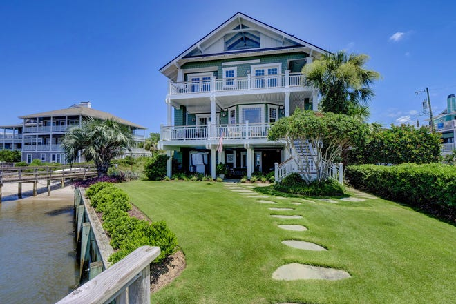 The property at 6 West Atlanta Street in Wrightsville Beach was listed for seven days before an offer was accepted and closed for $3.5 million