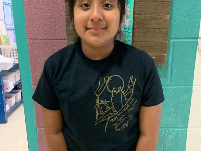Briseyda Garcia of Malpass Corner Elementary is Pender County's Student of the Week.