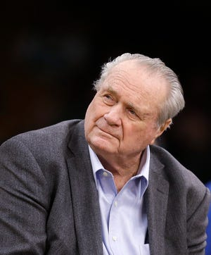 Boston Celtics great Tommy Heinsohn in 2018.