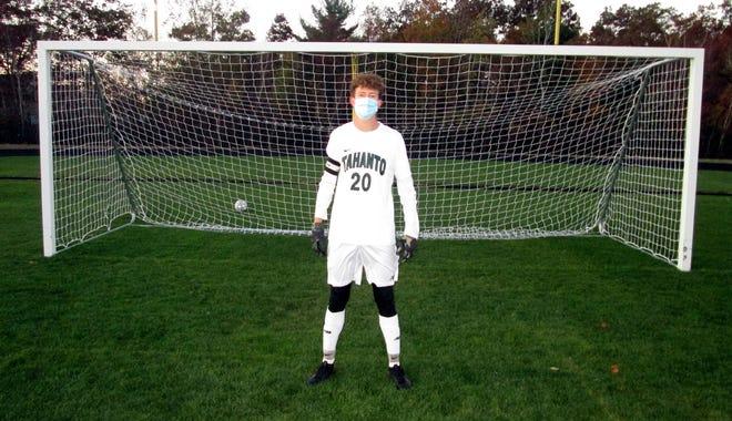 Tahanto soccer captain, senior Jack Stille.