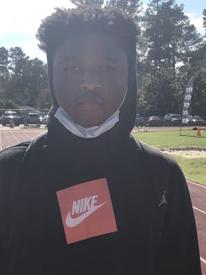 Sophomore wide receiver-safety Javonte Vereen is the latest in a line of college prospects developed at Havelock High School.