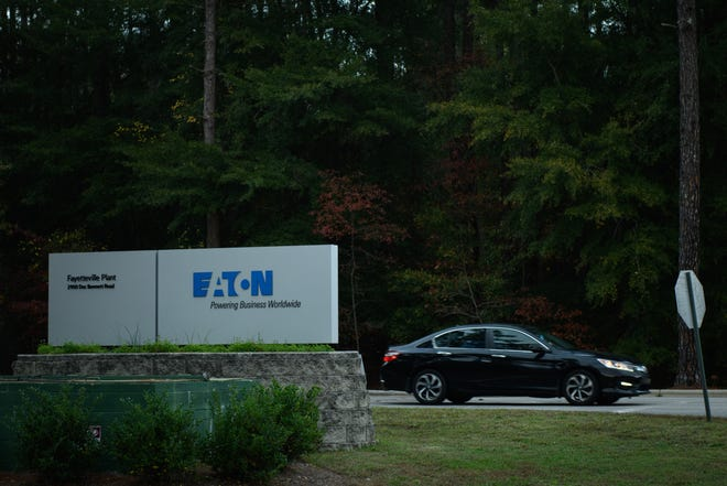 Eaton Corp. plant in Fayetteville is restructuring and may lay off up to 130 workers.