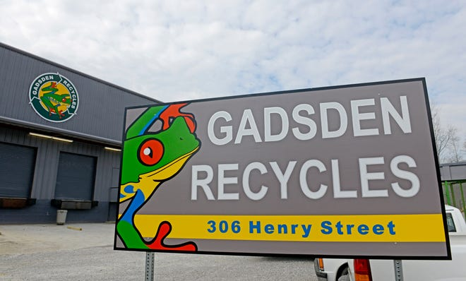 Gadsden Recycles is seen in a file photo from 2014.