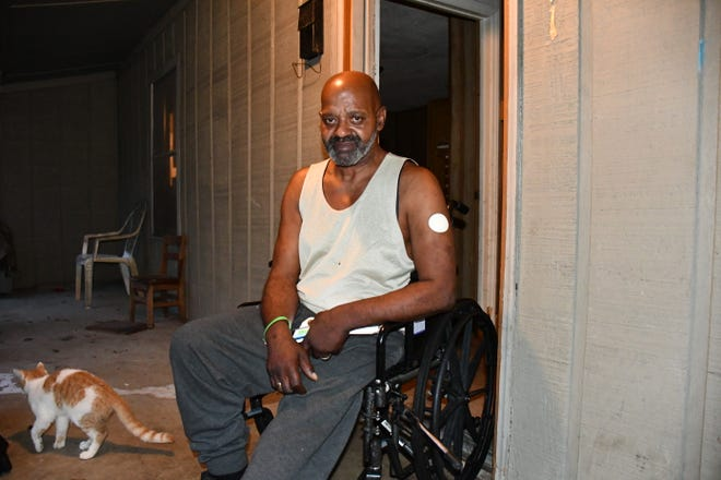 Wendell Longshore faced eviction when he didn't receive his disability money in September.