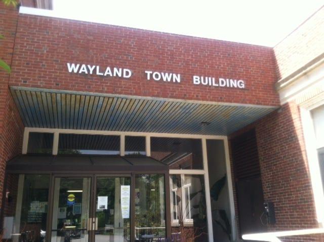 Wayland Town Building