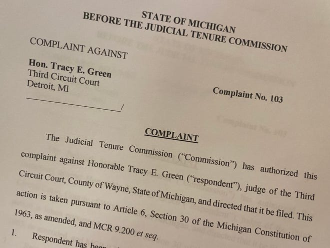 A 12-page complaint against Judge Tracy Green alleges she knew about abuse against her grandsons.