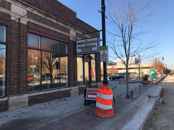 A new Lafayette police station and downtown parking garage are being planned in the 600 block of Columbia Street, including where the Midtowne Oven and Columbia Room are now. Lafayette is expected to unveil plans for the $45 million project on Nov. 19, 2020.