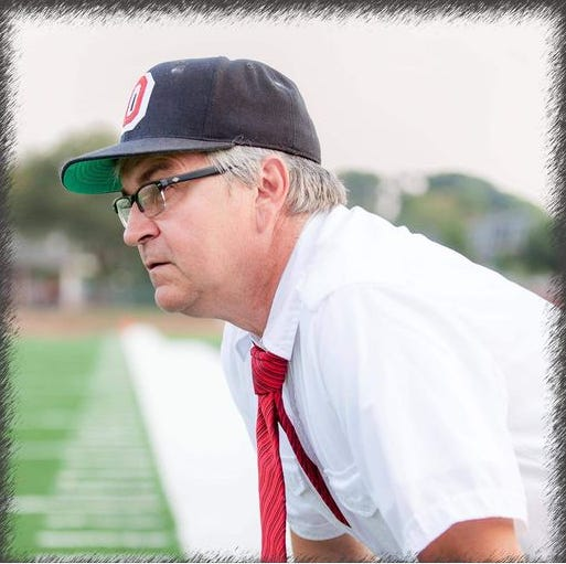 Jim Stoner portrays iconic Ohio State football coach Woody Hayes during a virtual performance at the Ohio State University-Mansfield. It will take place at 7 p.m. Thursday.