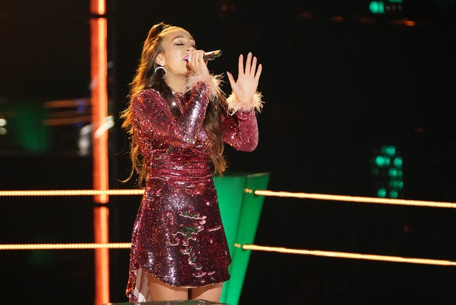 "Madeline Consoer of Eagle River won the battle round on ""The Voice"" Monday, Nov. 9, 2020."