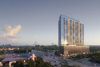 A 25-story apartment tower, proposed for the southwest corner of West Blue Mound and North Mayfair roads, is drawing heavy opposition from Wauwatosa residents.