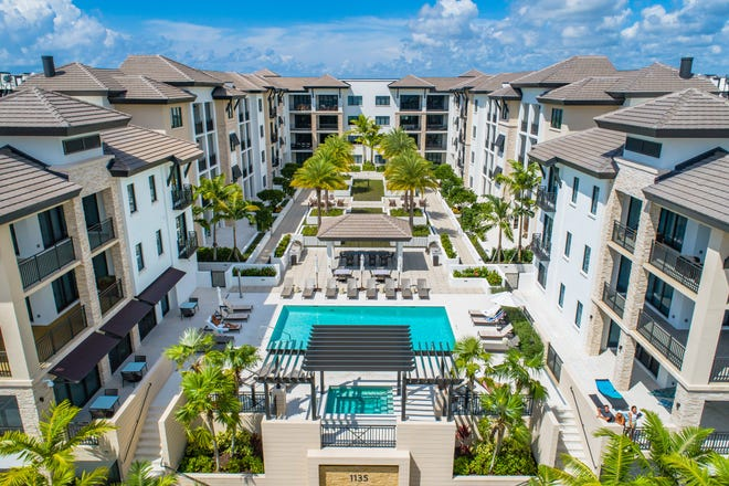 The Ronto Group, the developer of Quattro at Naples Square (shown) and Omega at Bonita Bay, was one of the top winners during the recent Sand Dollar Awards.