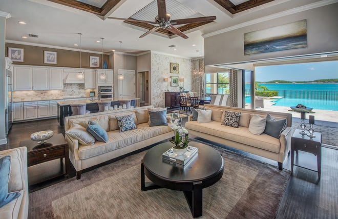 The Clubview is one of five Corkscrew Shores models that showcases a flexible open floor plan, with a great room design and an expansive lanai to enhance the outdoor living experience.