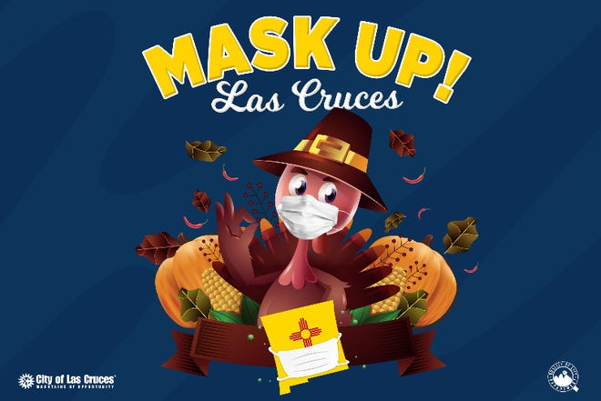 The City of Las Cruces will hold a drive-thru mask distribution event from from 1p.m. - 3 p.m. on Saturday, Nov. 14, at Vista Middle School.