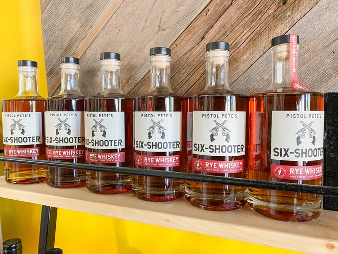 Pistol Pete's Six Shooter Rye Whiskey's design not only highlights the history of whiskey production in New Mexico, according to NMSU Athletic Director Mario Moccia, but also the longevity of the university itself.