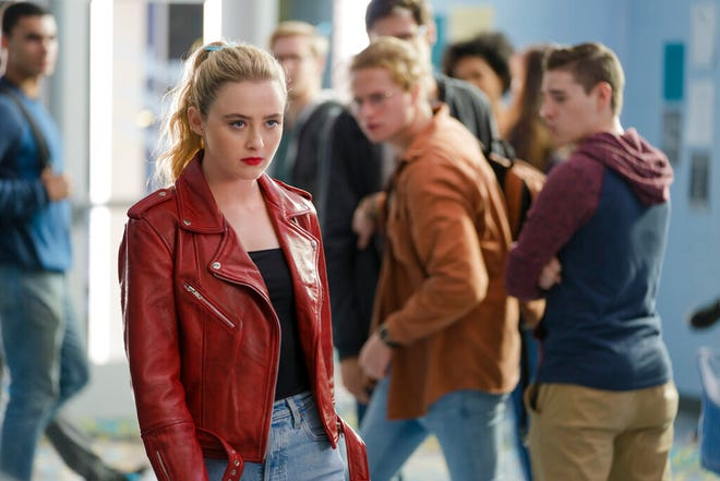 """Kathryn Newton in a scene from """"Freaky."""" The movie opens Friday at Queensgate Movies 13 and Hanover Movies 16."""