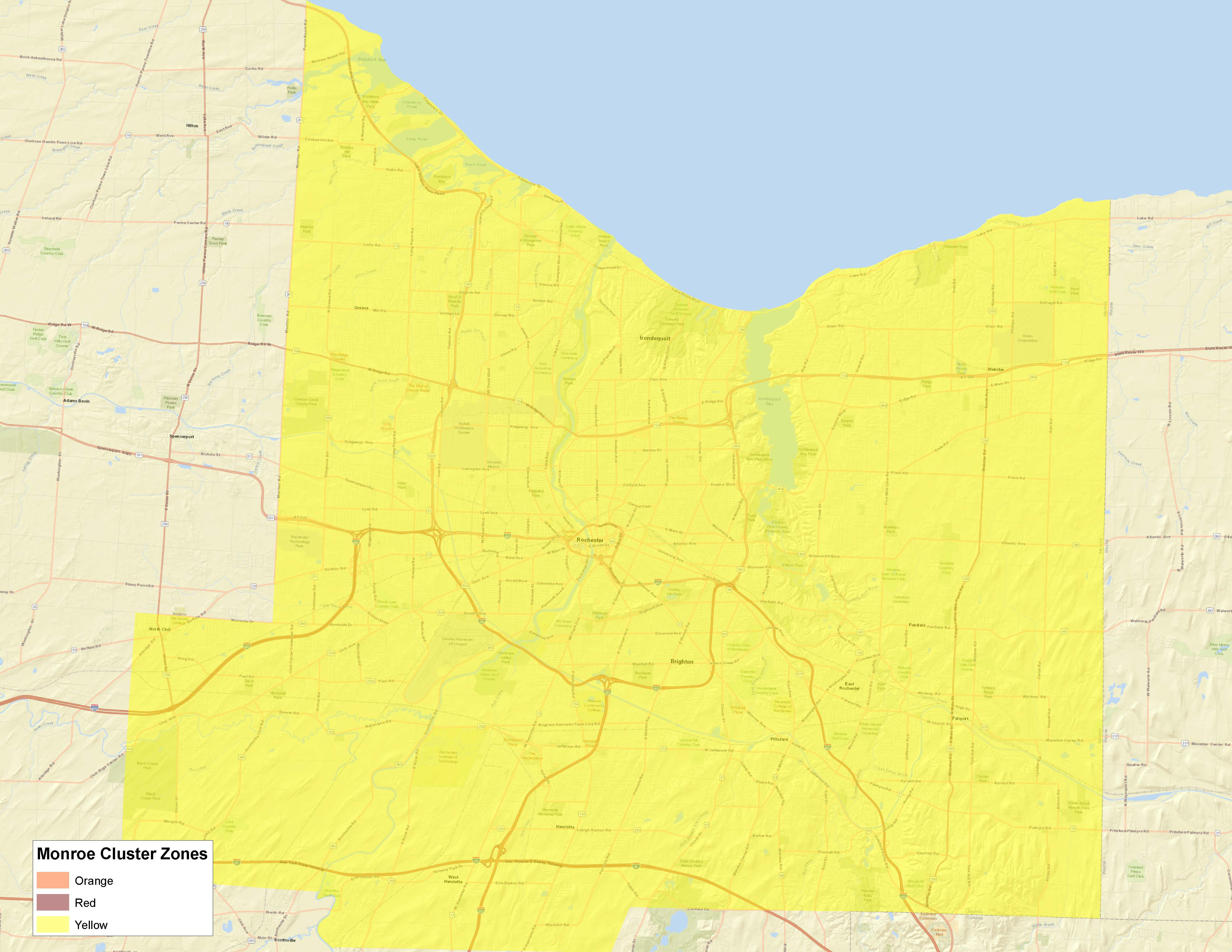 Monroe County Covid Live Updates On Yellow Zone Restrictions