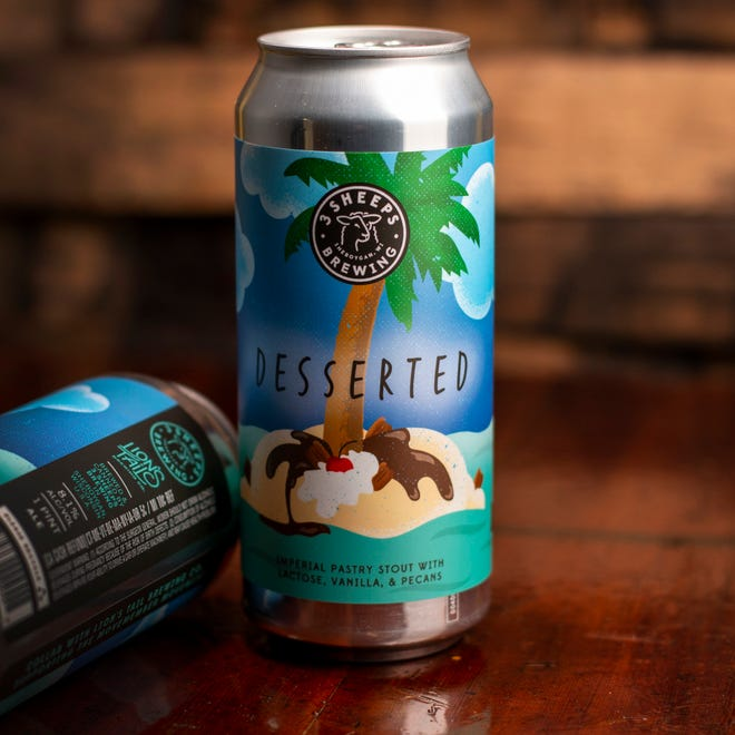 3 Sheeps Brewing and Lion's Tail Brewing collaborated to brew Desserted -- an imperial pastry stout with lactose, vanilla and pecans -- to raise funds for Movember, a nonprofit organization working to reduce preventable deaths among men.