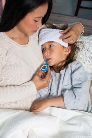 The Lysol + Kinsa Thermometer FLUency program helps schools track how many students are sick and with what symptoms.