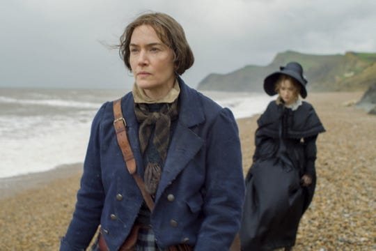 """To play 19th-century paleontologist Mary Anning in """"Ammonite,"""" Kate Winslet lived modestly and in relative isolation during shooting last year."""