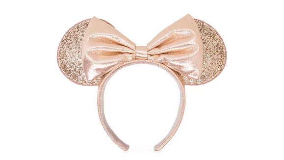Gifts for Disney lovers: Minnie Mouse Briar Rose gold mouse ears