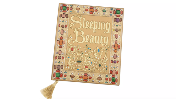 Gifts for Disney lovers: 'Sleeping Beauty' storybook replica journal