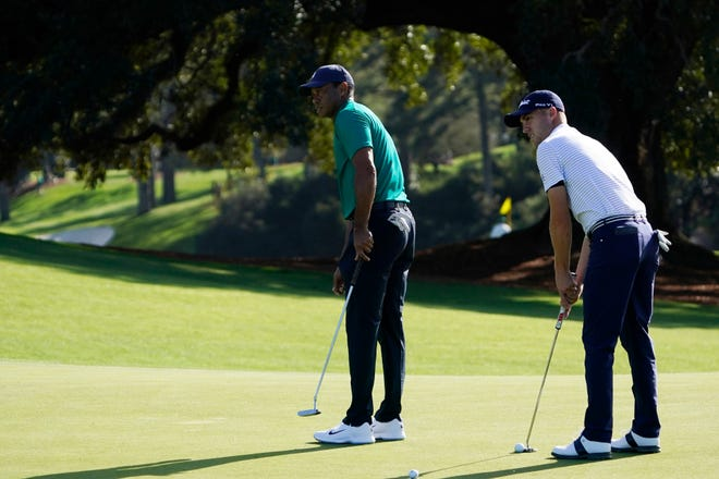 Tiger Woods and Justin Thomas have become good friends since the two began living in Jupiter.