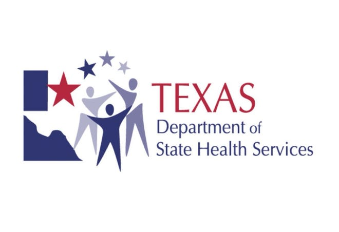 Texas Dept. of State Health Services logo