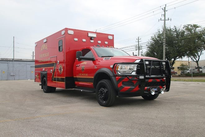 The Anna Fire Department recently added a new reserve engineand its first ambulance.