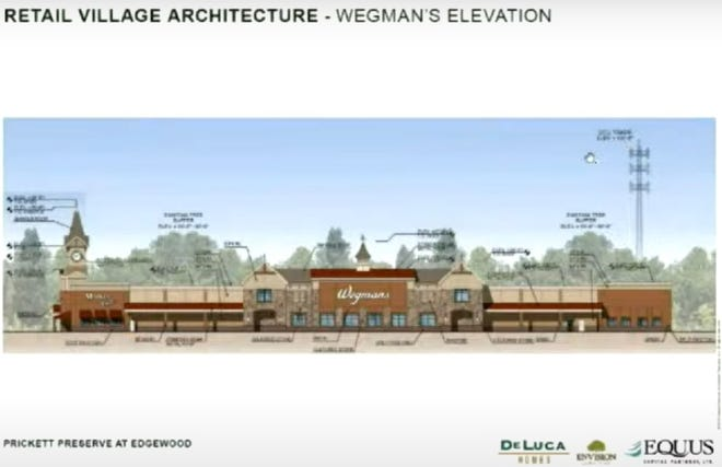 Developers have proposed building a 100,000-square-foot Wegmans grocery store across from Shady Brook Farm on Stony Hill Road in Lower Makefield.