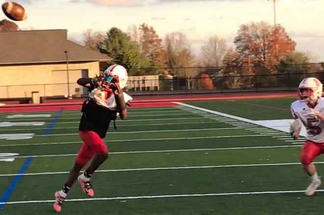 Junior cornerback Elijah Goods had an interception return for a touchdown in last week's district semifinal win over Spring-Ford.