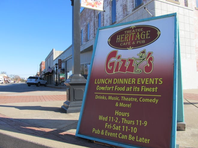 Gizzy's Heritage Theatre, Cafe and Pub will close in December after months of COVID-related struggles.