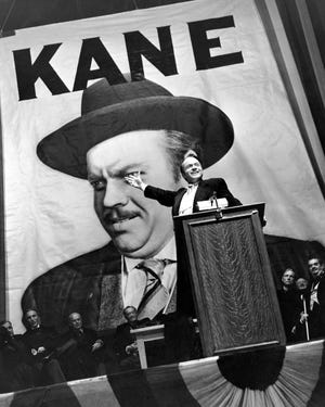 "A promotional still from ""Citizen Kane"""