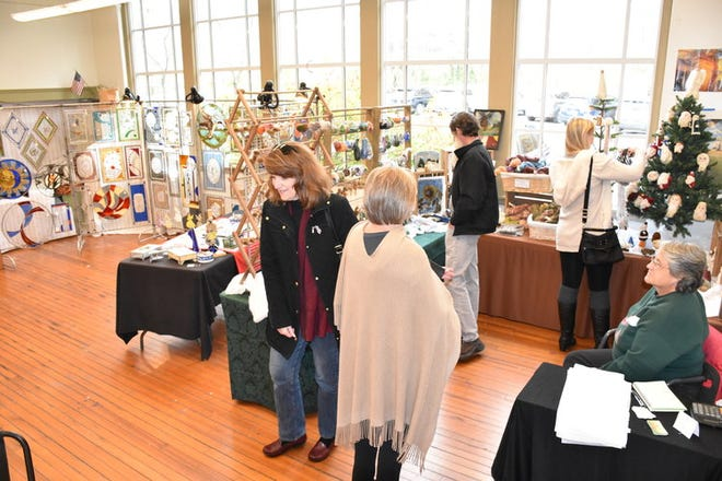 A scene from the 2019 Artisan Show at the Center for the Creative Arts in Yorklyn. This year's show will be Nov. 21 and 22.