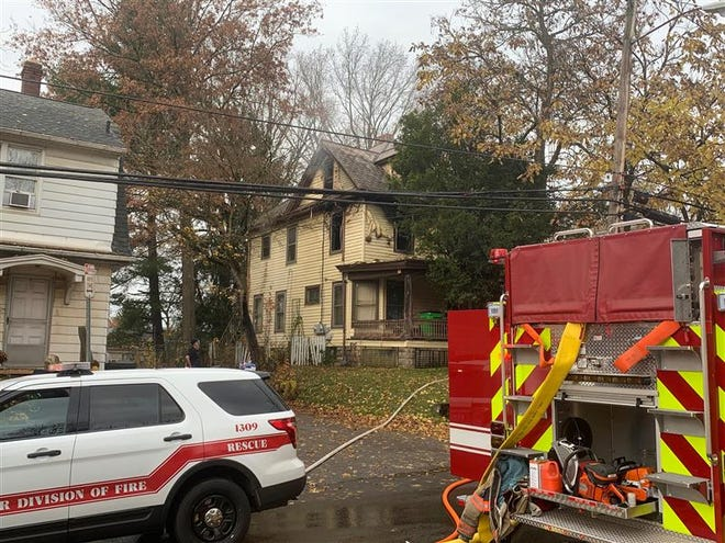 Firefighters from several departments responded to a house fire Wednesday morning in the 600 block of North Bever Street.