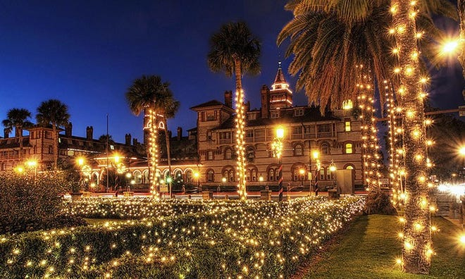 St. Augustine's Nights of Lights have become a spectacular tradition.