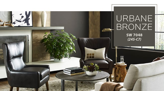 Urbane Bronze is the Sherwin-Williams 2021 Color of the Year.