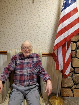 The Steuben Center honored the service of US Army veteran Ronald Sanford, of Dansville, on Veterans Day.