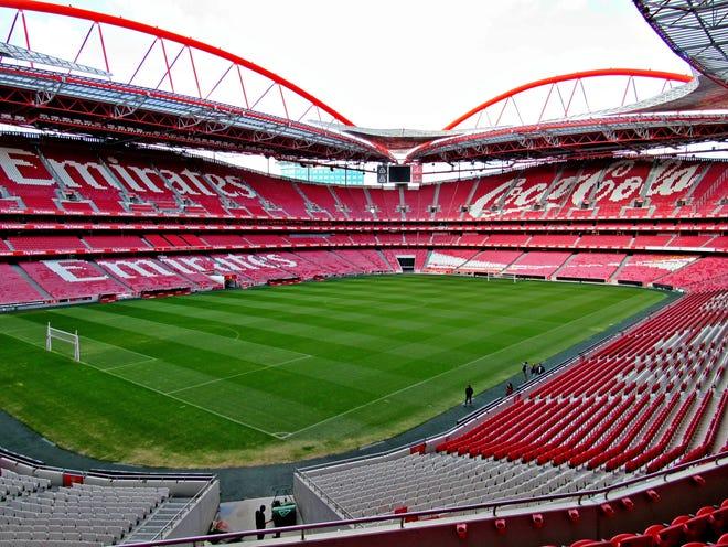 Benfica's Light Stadium, Lisbon, Portugal.