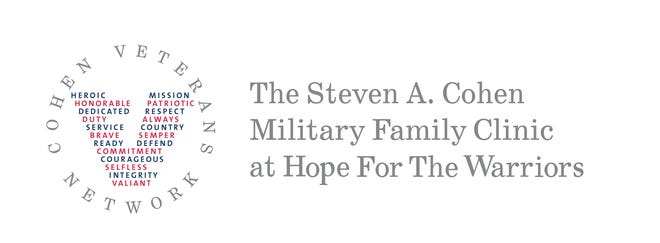 The Steven A. Cohen Military Family Clinic at Hope For The Warriors in Jacksonville opened virtually in October and will open its doors at 3245 Henderson Dr. in Spring 2021.
