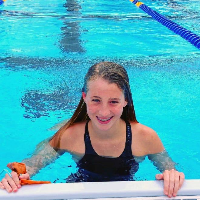 Lake Wales freshman Mary Leigh Hardman won two events at the Class 2A, Region 3 swim meet in Okeechobee.