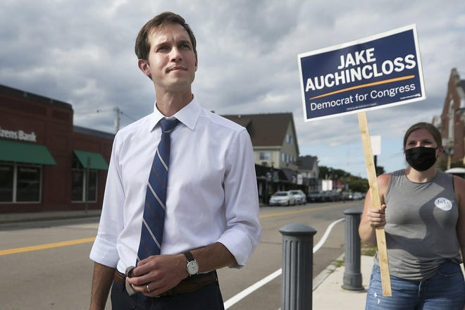No longer a candidate, Jake Auchincloss is preparing for his freshman term as congressman in Massachusetts' 4th District.    [Wicked Local File Photo]