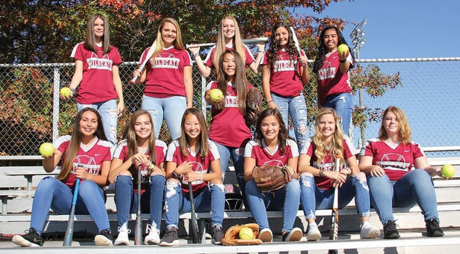 Members of the Oak Ridge High School softball team. Special to The Oak Ridger